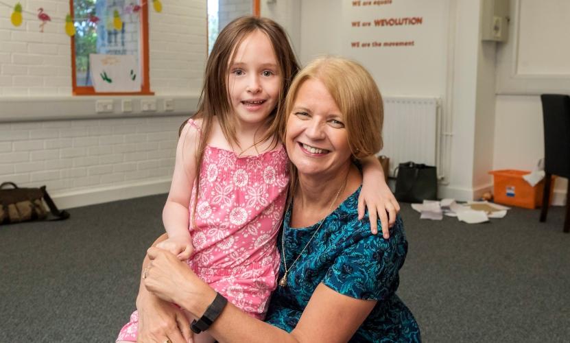 Margaret felt privileged to be part of the WeVo Kids programme