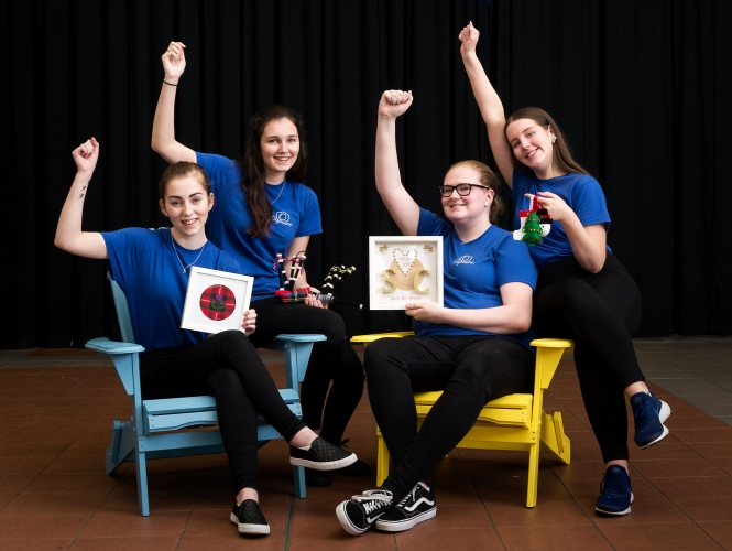 Capture: We are a Stirling based Young Enterprise group selling homemade and creative products that reflect our company values.