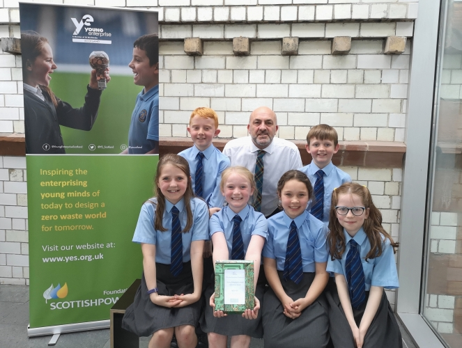 Our Chief Exec was thrilled to award the YES Innovation Award to St Joseph's Busby