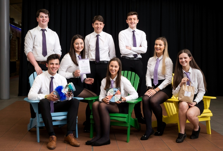 Last year 'Venture' from Fortrose Academy developed and produced a range of products including a Demtia Mitt, Knit your won Mitt Kit and their innovative 'Past Times' game which were a range of products to use with people living with dementia. Venture went on to represent Scotland at the UK Finals in London where they won the Disney Award for Creativity.
