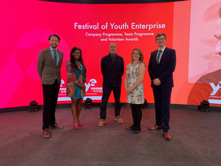 Graeme Easton, Bayile Adeoti, Geoff Leask, Alison Wood & Fraser Morrison