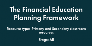 Financial Education Planning Framework