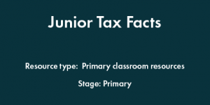 Junior Tax Facts