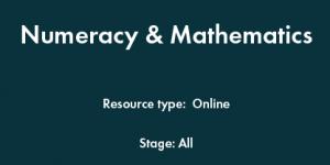 Numeracy & Mathematics PLC
