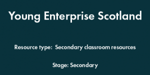 Young Enterprise Scotland - Secondary