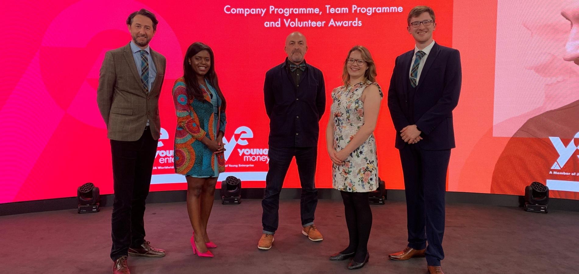 FoYE21: Company Programme, Team Programme and Volunteer Awards